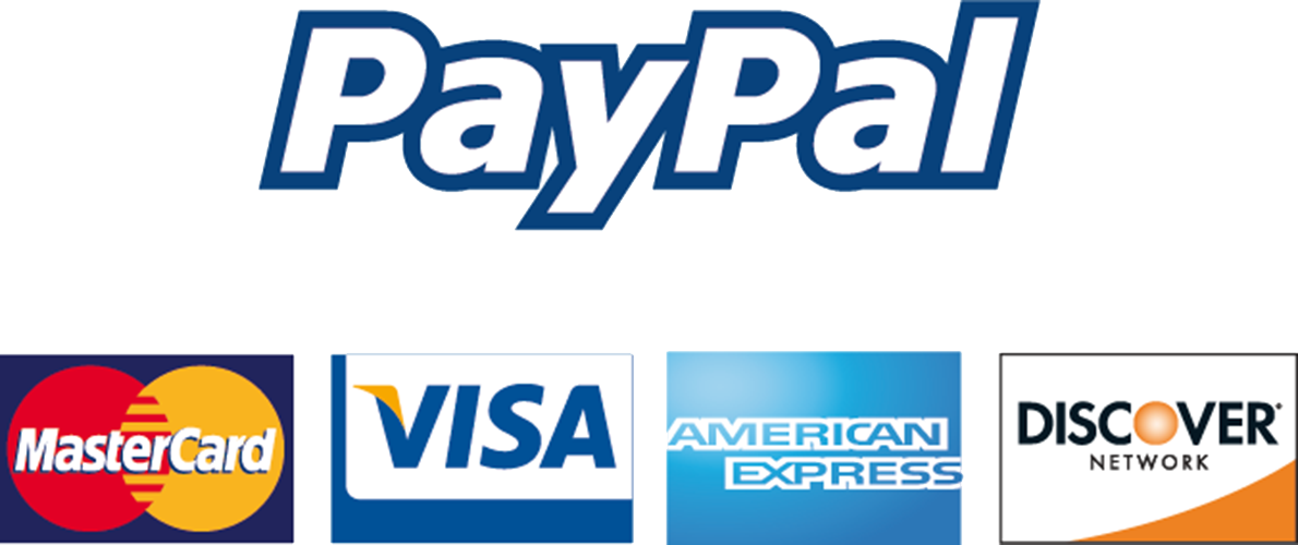 paypal and credits card accepted